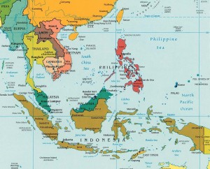 Guneydogu_Asya_harita