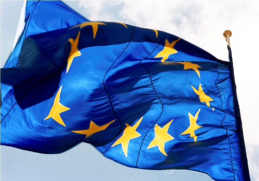 European flag / Drapeau européen
