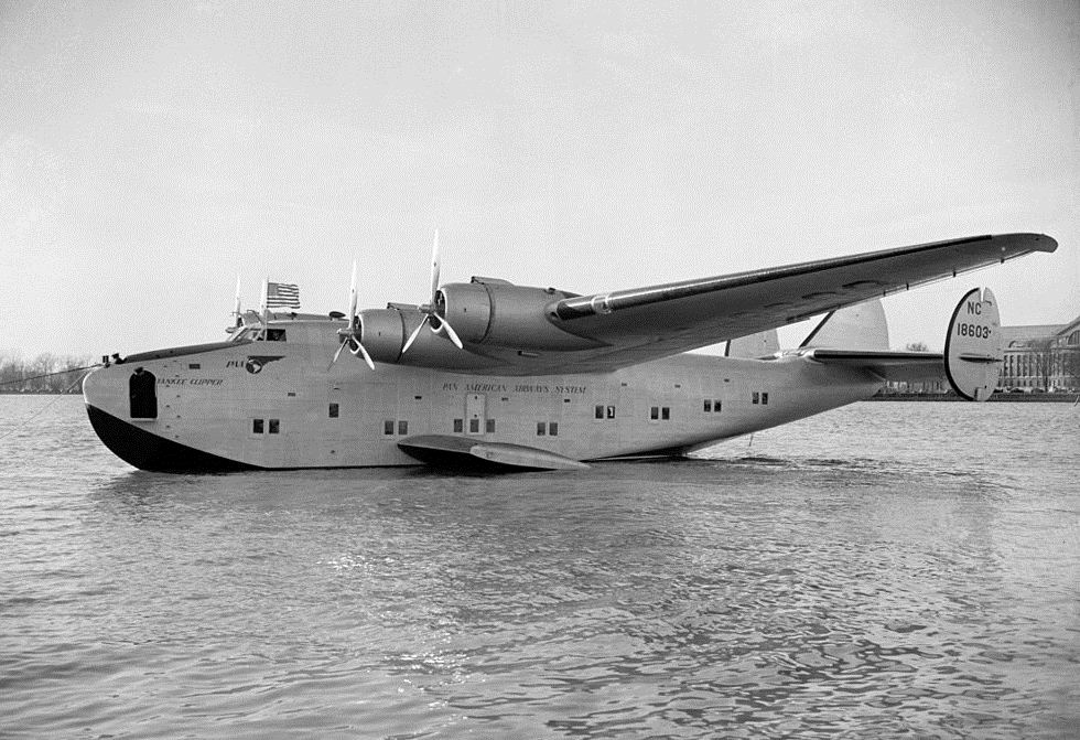 "Boeing 314 ""Honolulu Clipper"" Boeing_314_Yankee_Clipper_1939"