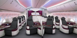 Qatar Airways_Boeing_787_dreamliner_cabin view