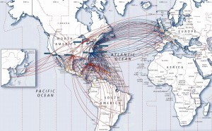 American Airlines_route map_2013