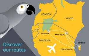 Fastjet_route map_mar 2013