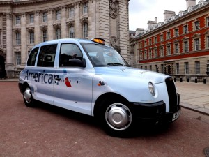 American Airlines_London_cab