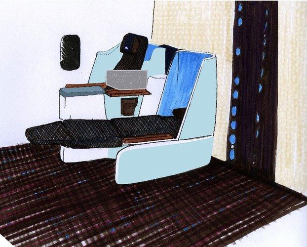 KLM'in Business Class'ına Tasarımcı Eli Değdi | Havayolu 101