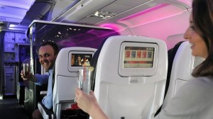 Virgin America_get lucky_drink