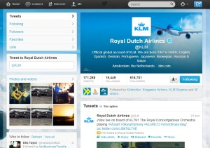 KLM_Twitter_account_june 2013