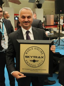 THY_Temel Kotil_Best Business Class Catering_2013_Skytrax