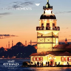 Etihad_monday moments_istanbul_maidens tower