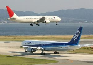 JAL_ANA_Osaka_KIX