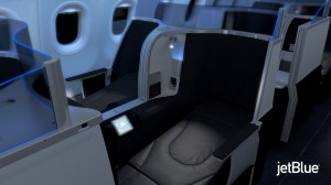 JETBLUE AIRWAYS LIE-FLAT SEAT