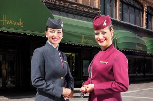 Qatar Airways open ticket office in Harrods