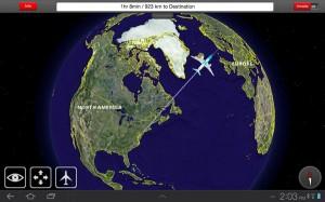 Flight 3D Moving Map