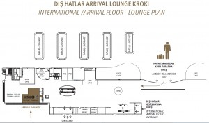 THY_Turkish Airlines_Istanbul_Arrival Lounge_map_kroki
