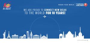 Delhi 10. Yıl Backdrop