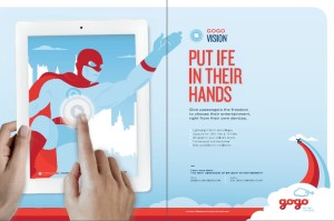 Gogo Vision_ad_put IFE in their hands_feb 2013