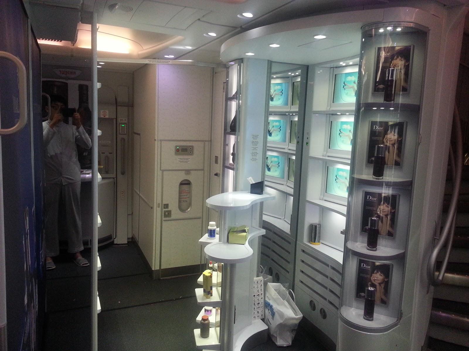 Korean Air_Airbus A380_Sky Shop