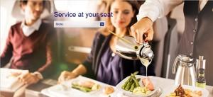 Lufthansa_business class service
