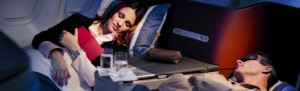 Lufthansa_business class service_short_sleep