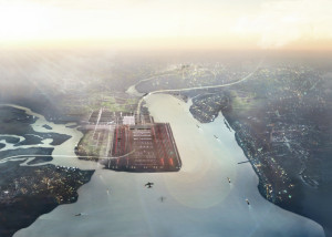 Thames Estuary_Aerial_Credit-Foster-+-Partners