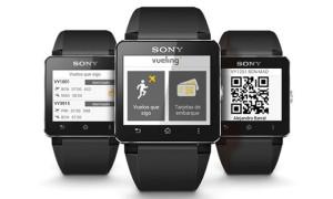 Vueling_Sony-Smartwatch_boarding-pass