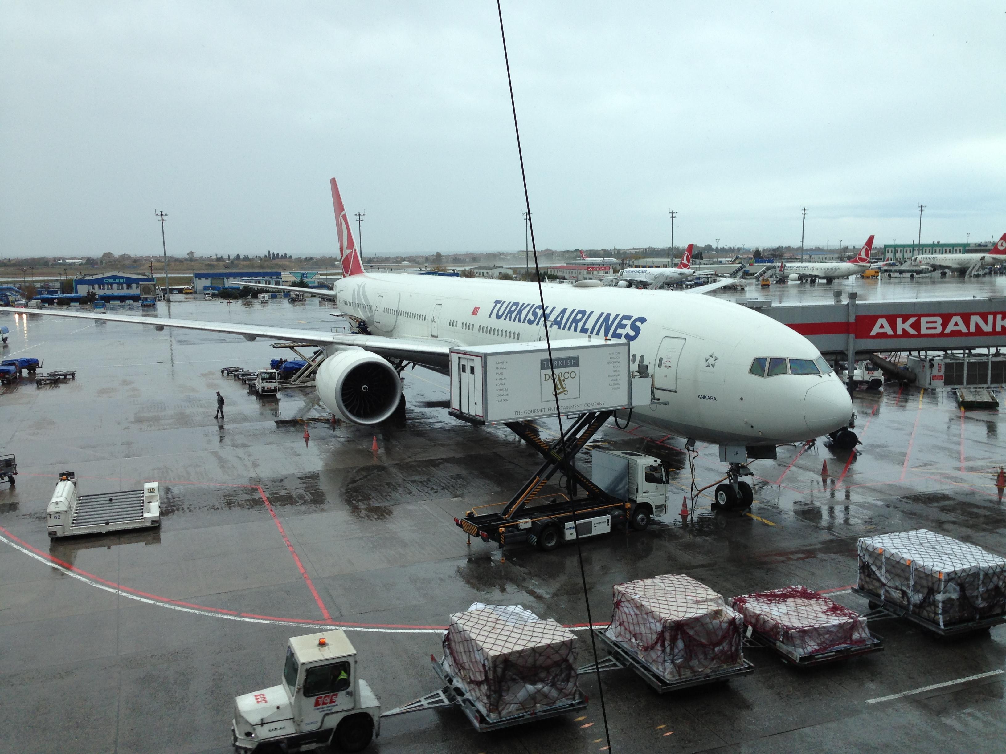 Turkish Airlines Boeing 777-3F2 (TC-JJP) 002