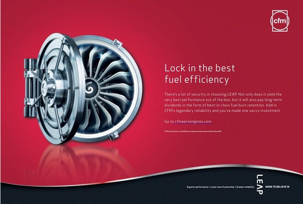 CFM - lock in the best fuel efficiency