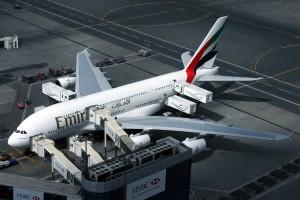 Emirates Airbus A380 DXB_Dubai