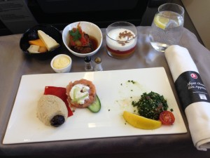 Turkish Airlines inflight food IST-VCE 001