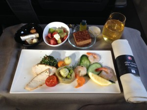 Turkish Airlines inflight food VCE-IST 001