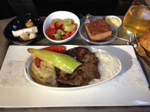 Turkish Airlines inflight food VCE-IST 002