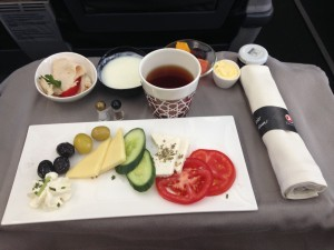Turkish Airlines_inflight food_Istanbul Srajevo Business Class_2014-001
