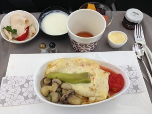 Turkish Airlines_inflight food_Istanbul Srajevo Business Class_2014-002