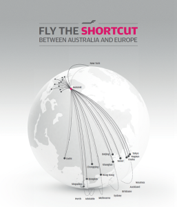 finnair_globe_fly the short cut