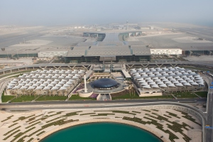 Aerial View of the HIA_Hamad Doha Airport