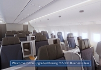 American Airlines Refreshed Boeing 767