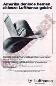19850627 Lufthansa reklam