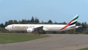 Delivery of Emirates' 100th Boeing 777-300ER Emirates