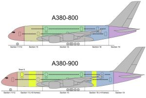Airbus A380-800 and Airbus A380-900