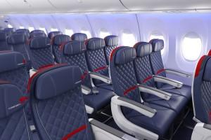Delta Air Lines_Boeing 737_Comfort Plus Seat