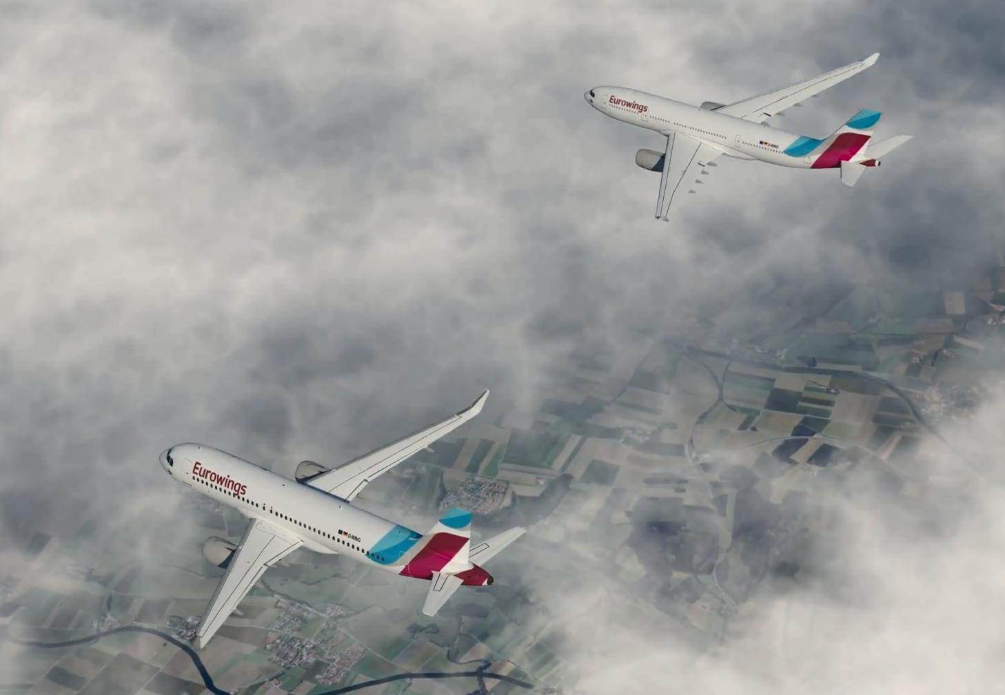 neue uniform eurowings