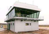 Frankfurter Flughafen - Das neue Wetterhäuschen auf dem Vorfeld