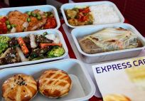 Hong Kong Express - Tasting all the meals inflight