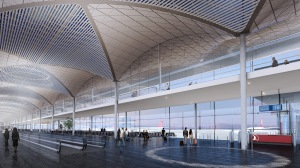 Istanbul_IST_new airport_Grimshaw_departures