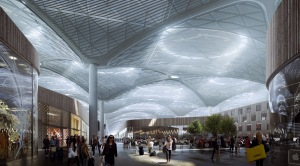 Istanbul_IST_new airport_Grimshaw_retail-area
