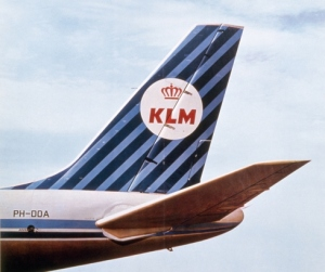 KLM_logo_after WWII_ball and stripes