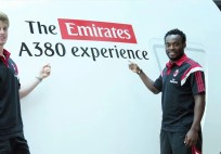Emirates A.C. Milan The Emirates A380 Experience