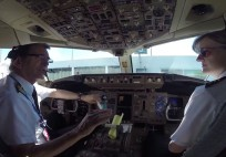 Jump inside the cockpit of #QF767