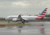 American Airlines - First Boeing 787 Test Flight