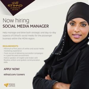 Etihad Airways_Social Media Manager