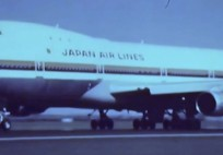 Japan Air Lines Boeing 747 Commercial - 1970